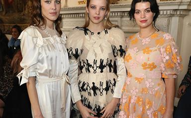 All The Celebrities Sitting Front And Centre At London Fashion Week