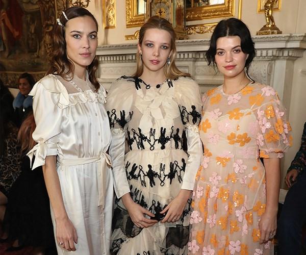 London Fashion Week 2018 Front Row