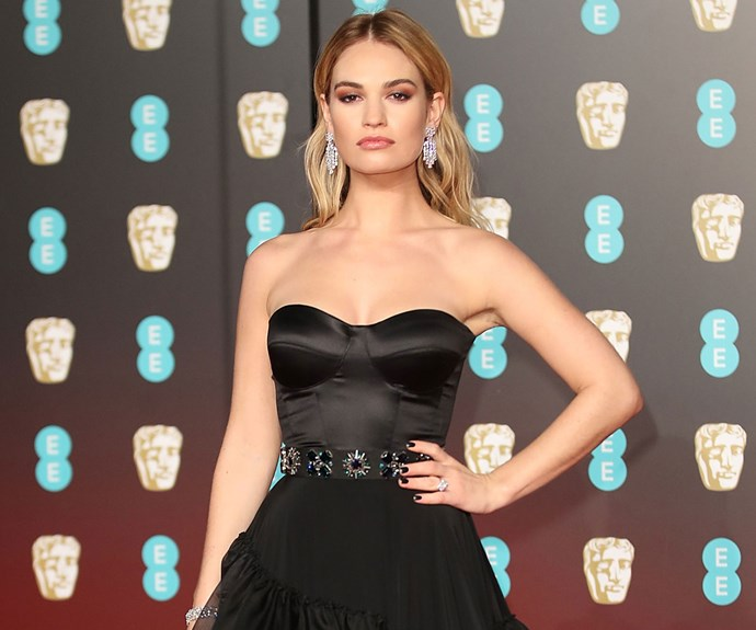 lily james matt smith engaged baftas 2018