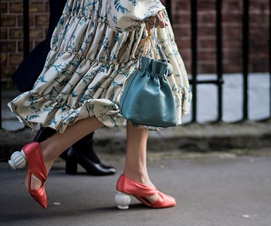 The London Fashion Set Bring A Quintessentially British Feel To Street Style