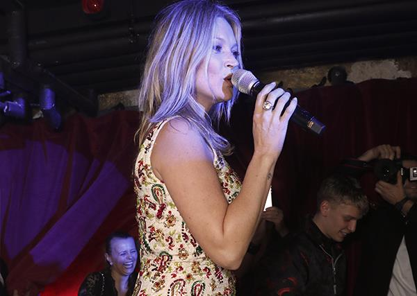Watch Kate Moss Channel Marilyn Monroe, Pop Out Of A Cake & Sing 'Happy Birthday' To Mert Alas