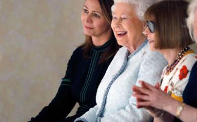 So The Queen Turned Up To London Fashion Week