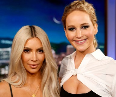 Jennifer Lawrence Thinks Her Friendship with Kim Kardashian Is One-Sided