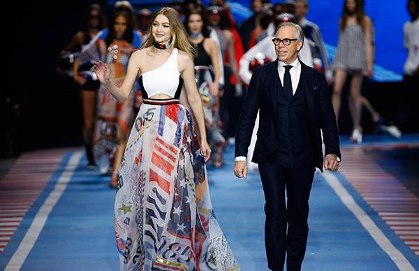 Everything That Went Down At Tommy Hilfiger's Hadid-Filled TOMMYNOW Drive Show