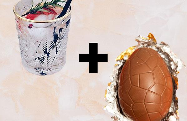 gin and tonic easter eggs