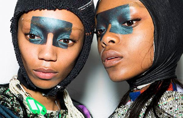 The Most OTT Beauty Looks From London Fashion Week