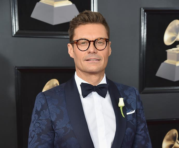 Ryan Seacrest at 2018 Grammys
