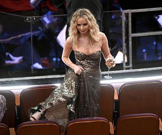 Jennifer Lawrence at 2018 Oscars
