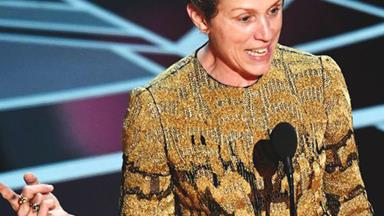 Read Every Word Of Frances McDormand's Powerful Best Actress Acceptance Speech