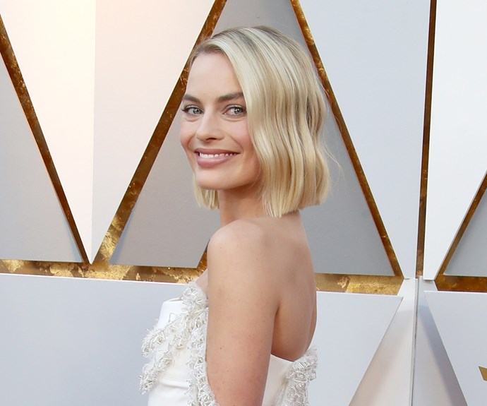Margot Robbie at 2018 Oscars