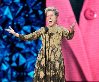 Frances McDormand at the 2018 Oscars.