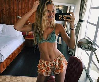 8 Fitness Rules Victoria's Secret Angel Romee Strijd Follows