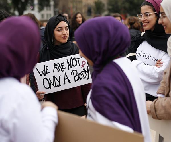 International Women's Day 2018 marches around the world