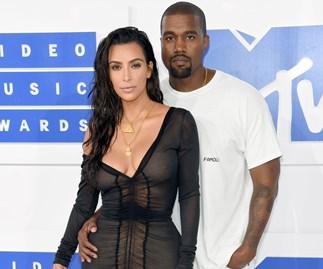 Kanye West Dyed His Hair Pastel Pink To Match Wife Kim Kardashian