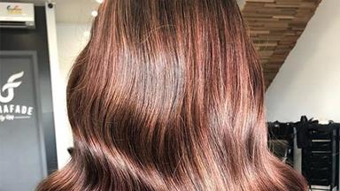 'Rose Brown' Hair Is The Perfect Way For Brunettes To Try The Rose Gold Trend