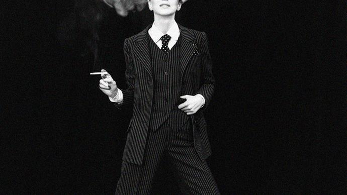 Yves Saint Laurent suit 1970.