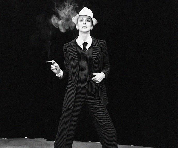 Yves Saint Laurent suit 1970.