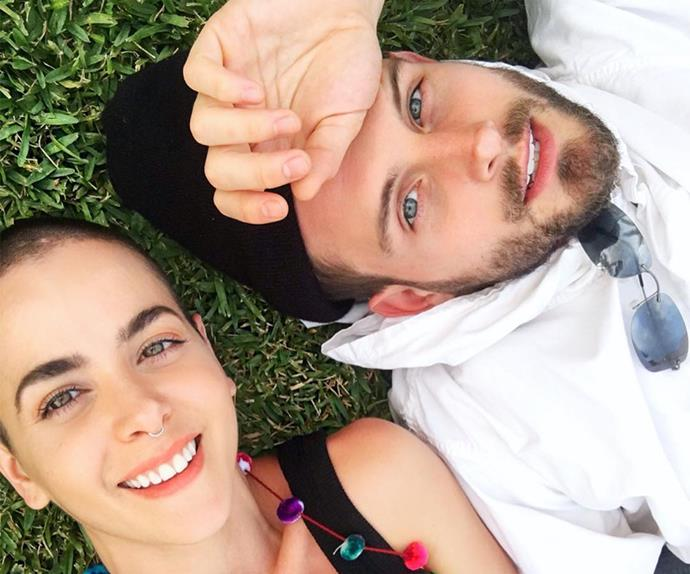 Nico Tortorella and Bethany Meyers