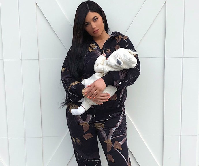 Kylie Jenner Is Already Teaching Baby Stormi About The Art Of Selfies