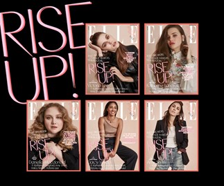 ELLE Australia Celebrates Rising Stars With 5 'Choose Your Own Cover' Editions