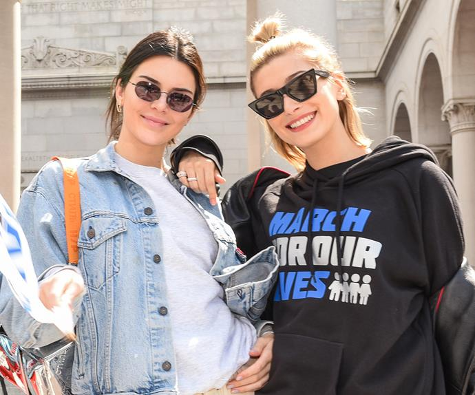 Kendall Jenner at March For Our Lives
