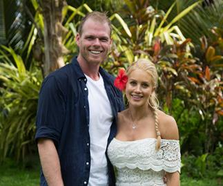 Ali and Jarrod on Bachelor in Paradise