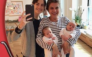 Leandra Medine's Twins