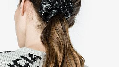 Is It Bad That We Really Want This $225 Balenciaga Leather Scrunchie?