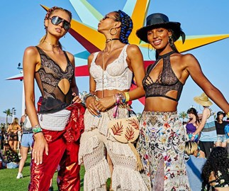 Victoria's Secret Angels Were Out In Full Force At Coachella This Weekend