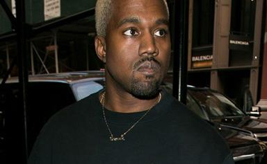 Kanye West Returns To Twitter With Questionable Neck Tattoo Designs