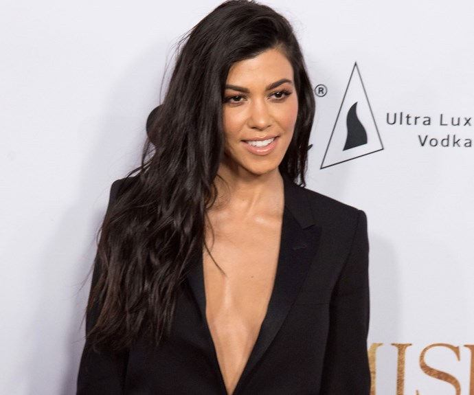 Kourtney Kardashian Celebrated Her 39th Birthday With Her Sisters And Some Strangely Realistic Piñatas