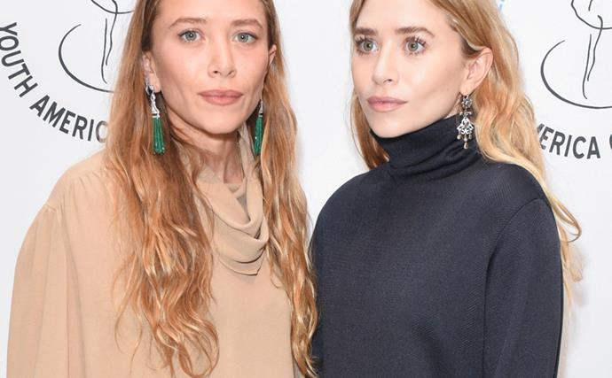 Mary-Kate And Ashley Olsen Give A Nod To Nostalgia With Matching Red Carpet Looks