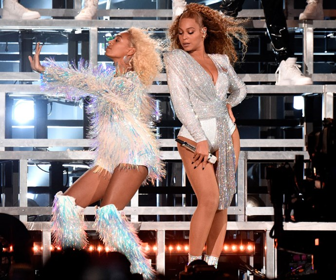 Beyoncé And Solange Fell Onstage At Coachella But Recovered Like The Queens That They Are
