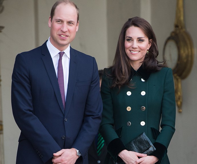 Kate Middleton and Prince William.