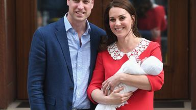 Kate Middleton And Prince William Introduce Their New Prince To The World