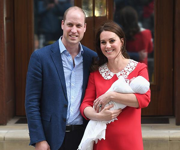 Kate Middleton royal baby three Lindo Wing photo.