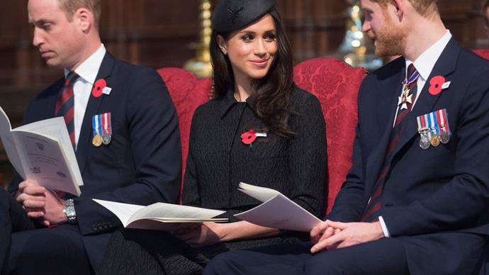 Prince William Couldn't Keep His Eyes Open During The Anzac Day Service At Westminster Abbey
