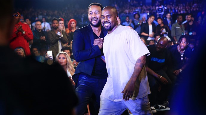 Kanye West Tweeted A Very Awkward Text Exchange With John Legend