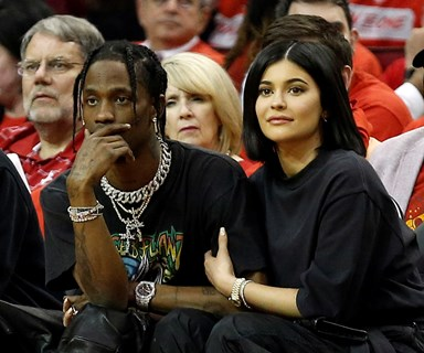 Kylie Jenner And Travis Scott Share An Adorable Couple Photo