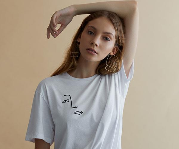 Oracle Fox T Shirt Line OF