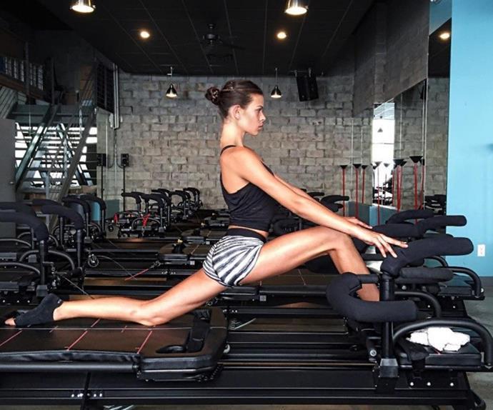 Victoria Secret Model Workout