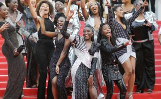 Why 16 Black Actresses Dressed In Balmain To Help Prevent Racism At Cannes