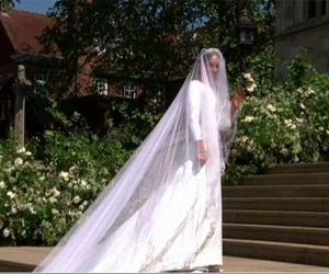 The First Look At Meghan Markle's Royal Wedding Dress Is Here