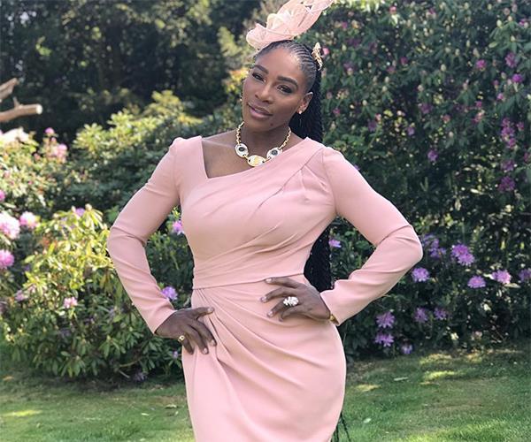 Serena Williams royal wedding outfit.