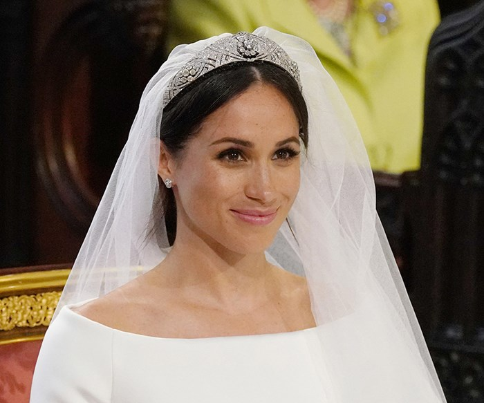Meghan Markle Wore The Most Beautiful Tiara With Her Wedding Dress
