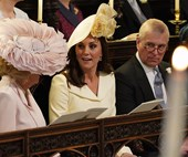 Kate Middleton Just Arrived At The Royal Wedding