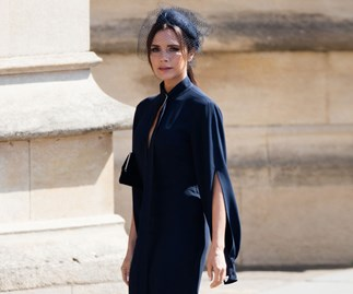 Did You Notice Victoria Beckham's Unexpected Styling Choice At The Royal Wedding?