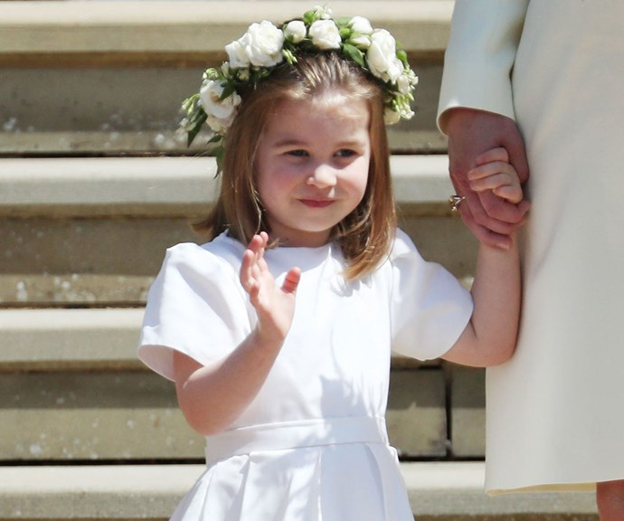 Princess Charlotte Channeled Prince Harry In The Most Adorable Way At The Royal Wedding