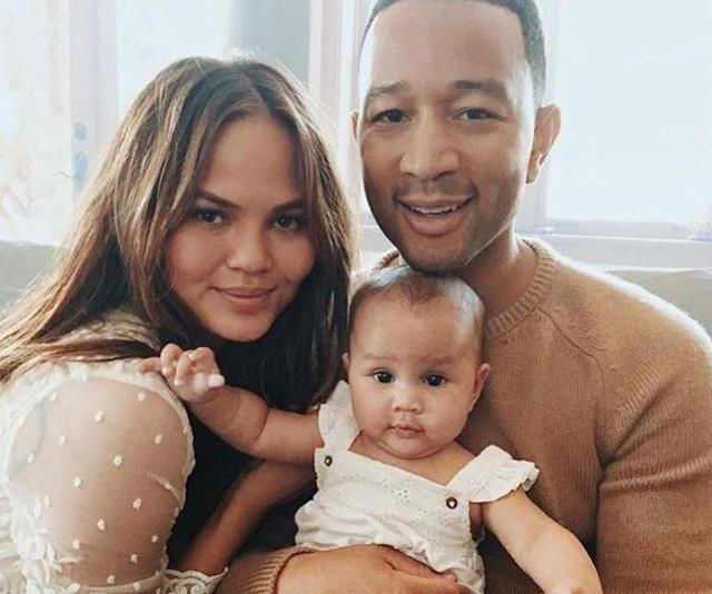 Chrissy Teigen And John Legend Share The First Adorable Picture Of Their Son