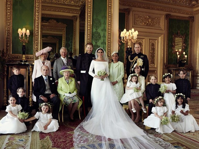 The Significance Of Kate Middleton's Position In The Royal Wedding Portrait